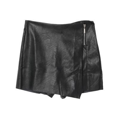 オディエアモ ODI ET AMO ミニスカート ブラック S ポリウレタン 59% / レーヨン 35% / ポリエステル 6% ミニスカート