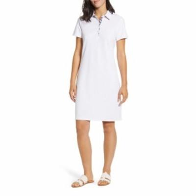 トミー バハマ TOMMY BAHAMA レディース ワンピース ポロ ワンピース・ドレス Paradise Polo Dress White