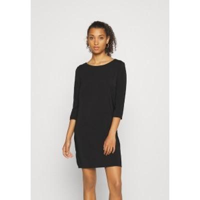 ヴィラ レディース ワンピース トップス VILAIA TINNY DRESS - Day dress - black black