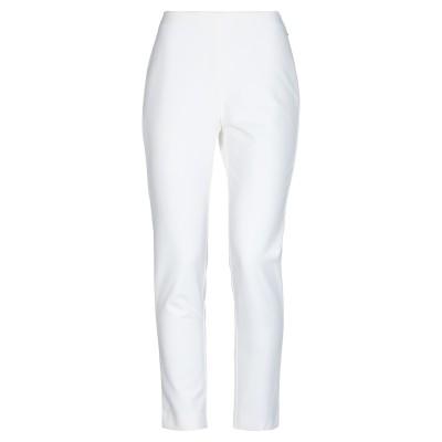 エムエスジーエム MSGM パンツ ホワイト 44 56% コットン 34% ナイロン 10% ポリウレタン パンツ