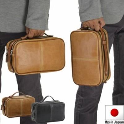 日本製 セカンドバッグ メンズ クラッチバッグ ダブルファスナー メンズ 冠婚葬祭 結婚式 フォーマルバッグ 礼服用バッグ  B0525