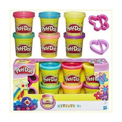 Hasbro Glitzerknete: Play-Doh Glitzerknete