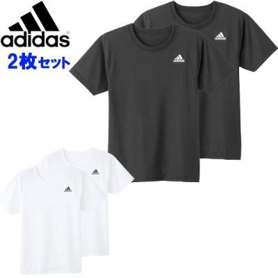 adidas(アディダス) 2Pクルーネックシャツ APB1132 半袖Tシャツ