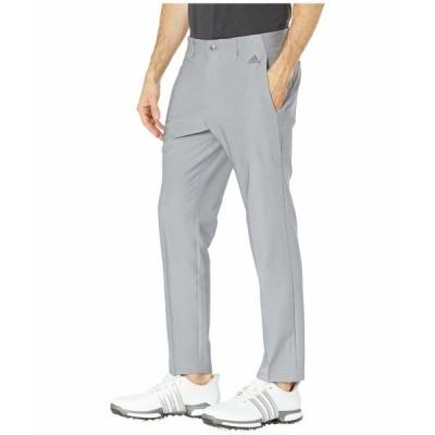 アディダス カジュアルパンツ ボトムス メンズ Ultimate 3-Stripes Tapered Pants Grey Three
