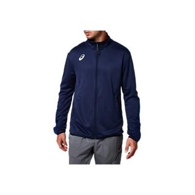 [アシックス] トレーニングウエア トレーニングジャケット(スリム) ピーコート 日本 XL (日本サイズXL相当)