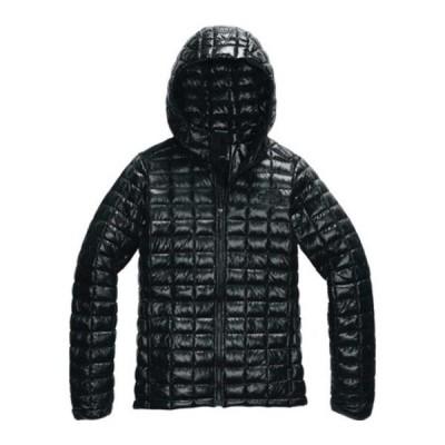 ノースフェイス レディース ジャケット・ブルゾン アウター Thermoball Eco Hoodie TNF Black