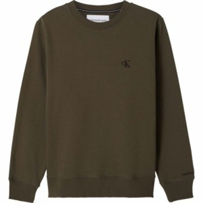 カルバンクライン Calvin Klein Jeans メンズ スウェット・トレーナー トップス Essential Crew Sweatshirt Deep Depths
