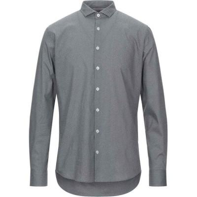 センス SSEINSE メンズ シャツ トップス patterned shirt Dark brown