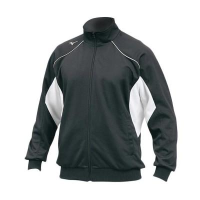 ミズノ/MIZUNO メンズ グローバルエリート ウォームアップシャツ 12JC7R1009 ブラック
