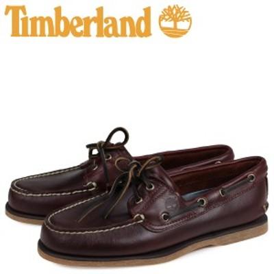 ティンバーランド デッキシューズ Timberland メンズ EK 2EYE BOAT SHOES 25077 ブラウン