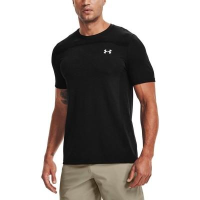 アンダーアーマー Under Armour メンズ Tシャツ トップス Seamless T-Shirt Black/Mod Gray