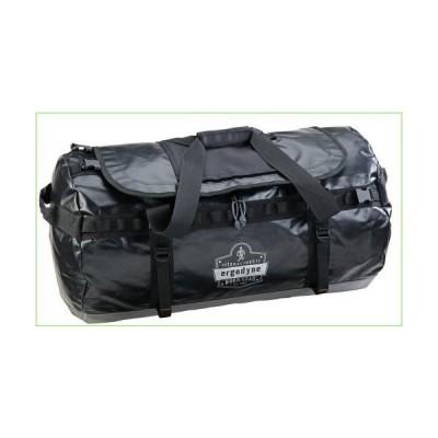 Ergodyne Arsenal 5030L Large Tarpaulin Water Resistant Duffel Bag w/ Removable Shoulder Straps,Black「並行輸入品」