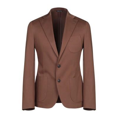ブライアン デールズ BRIAN DALES テーラードジャケット ブラウン 46 コットン 97% / ポリウレタン 3% テーラードジャケット