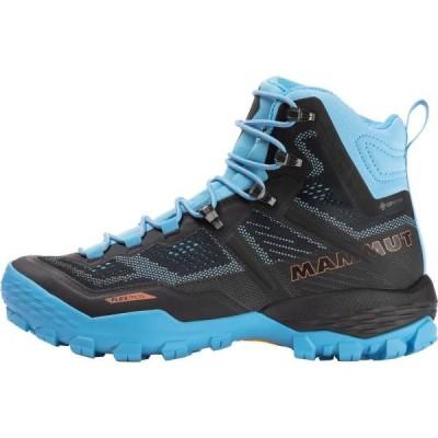 トレッキングシューズ レディース ゴアテックス 登山靴 レディース Ducan HighgTX Women 3030-03480 BK-WHISPER  (MAT)(QCB02)