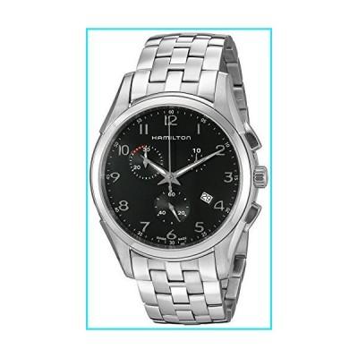 Hamilton Men's H38612133 Jazzmaster Thinline Chrono Black Dial Watch【並行輸入品】
