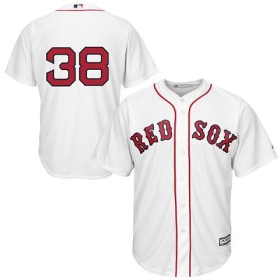 Rusney Castillo ボストン・レッドソックス Majestic Cool Base Player ユニフォーム - White