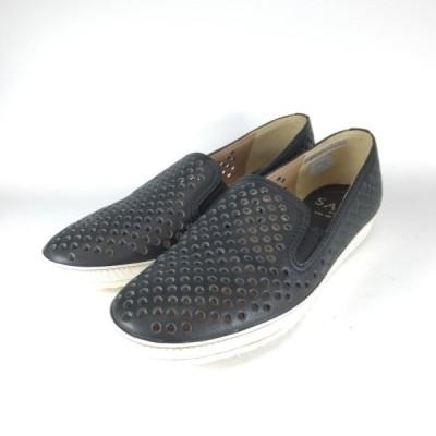 saya 靴 サヤ ラボキゴシ 5404 B スリッポン レザースニーカー カジュアルシューズ 本革 パンチング レザー 履きやすい靴 歩きやすい靴 大きいサイズ