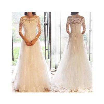 ウェディングドレス aラインドレス 安い ウエディングドレス ボレロ エンパイア 二次会 半袖 花嫁 パーティードレス 披露宴 ブライダル 結婚式 wedding dress