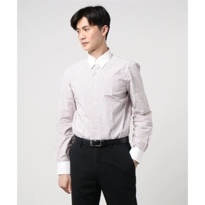 シャツ ブラウス ESTNATION / タブカラードレスシャツ