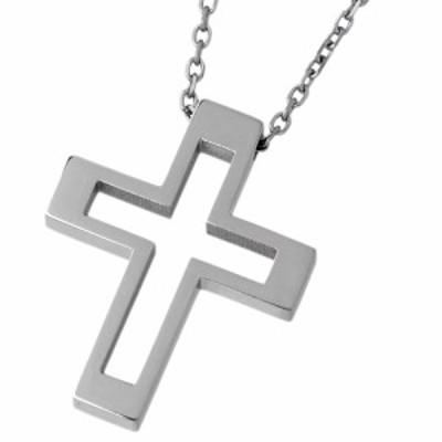 ヴィー vie ステンレス ネックレス 金属アレルギー対応 メンズ レディース クロス 十字架 アレルギーフリー シンプル おしゃれ vie-N1157