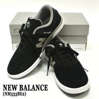 NEW BALANCE/ニューバランス NM533BE2 BLACK/GREY SUEDE/MESH 靴 スケートボードシューズ スニーカー 送料無料