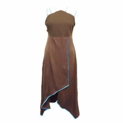 TURBO WEAR「M」Asymmetric cyber dress (ターボウェアー アシンメトリーサイバーワンピース、ドレス) 062670【中古】