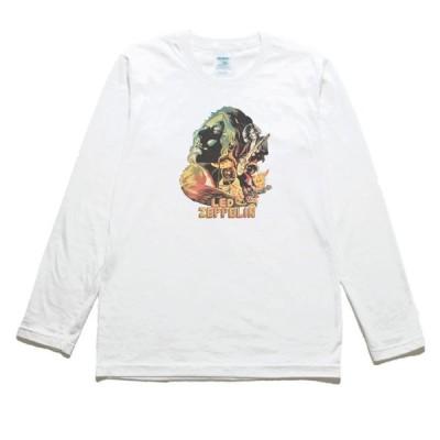 LED ZEPPELIN 音楽・ロック・シネマ 長袖Tシャツ ロングスリーブ