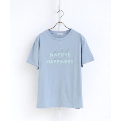 tシャツ Tシャツ ロゴミックスオーガニックコットンTシャツ