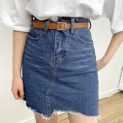 BULLANG GIRL レディース スカート Burri Denim Skirt