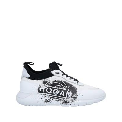ホーガン HOGAN スニーカー&テニスシューズ(ローカット) ホワイト 6 革 / 紡績繊維 スニーカー&テニスシューズ(ローカット)