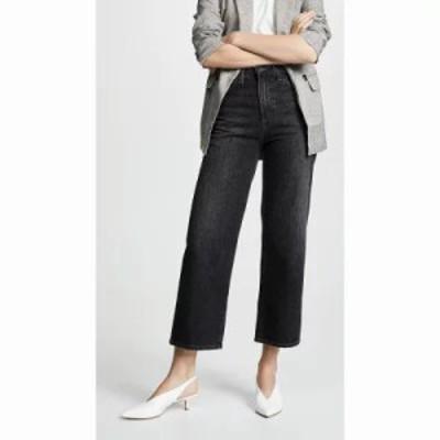 エージー ジーンズ・デニム The Etta Wide Leg Cropped Jeans Obscura