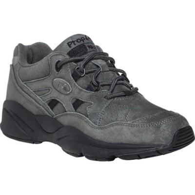 プロペット スニーカー シューズ レディース Stability Walker Shoe (Women's) Pewter Suede