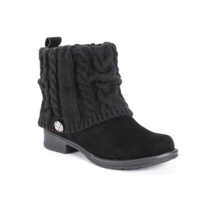 ムクルクス Muk Luks レディース ブーツ シューズ・靴 Pattrice Boots Black
