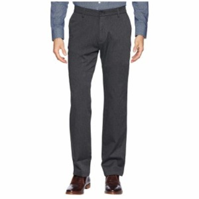 ドッカーズ Dockers メンズ ボトムス・パンツ Straight Fit Signature Khaki Lux Cotton Stretch Pants D2 - Creaseless Charcoal Heathe