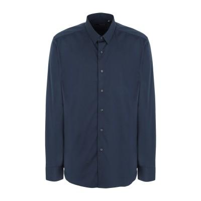 XACUS シャツ ブルー 42 コットン 78% / ナイロン 18% / ポリウレタン 4% シャツ