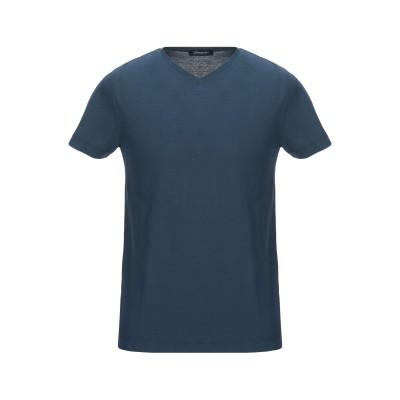 ドルモア DRUMOHR T シャツ ダークブルー S 100% コットン T シャツ