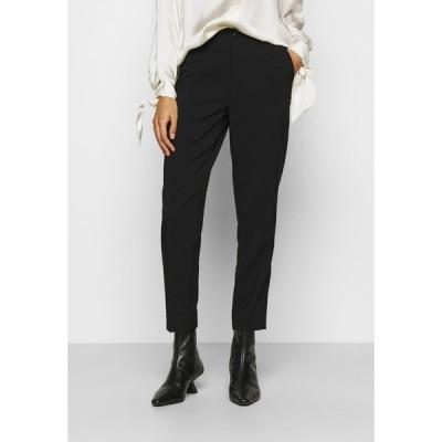 アンナフィールド カジュアルパンツ レディース ボトムス BASIC BUSSINESS PANTS  - Trousers - black