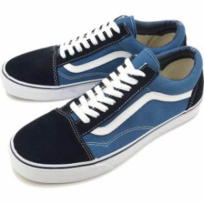 VANS バンズ スニーカー 靴 メンズ レディース CLASSICS OLD SKOOL オールドスクール NAVY(VN000D3HNVY)