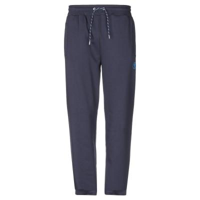ビッケンバーグ BIKKEMBERGS パンツ ダークブルー XS コットン 95% / ポリウレタン 5% パンツ