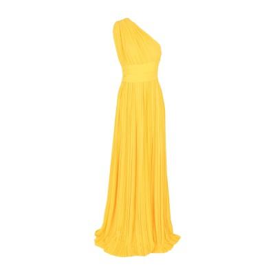ディースクエアード DSQUARED2 ロングワンピース&ドレス イエロー 42 シルク 100% ロングワンピース&ドレス