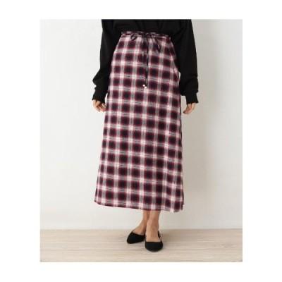OPAQUE.CLIP(オペーク ドット クリップ)【42(LL)WEB限定サイズ】オンブレロングスカート