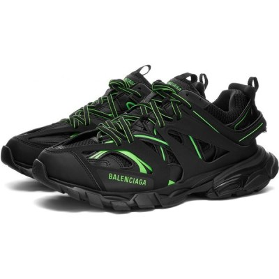 バレンシアガ Balenciaga メンズ スニーカー シューズ・靴 Track Sneaker Black/Fluro Green
