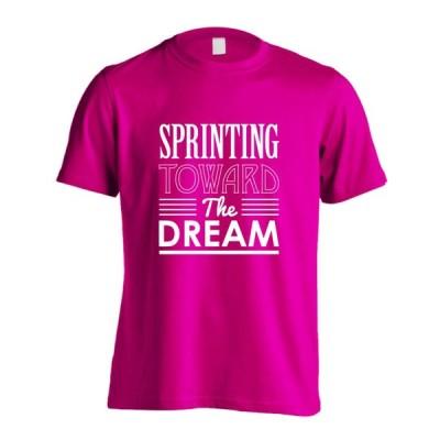 陸上 Tシャツ Sprinting toward the dream キッズサイズ 160cm以下 全16色 ドライ リクティ RikuT