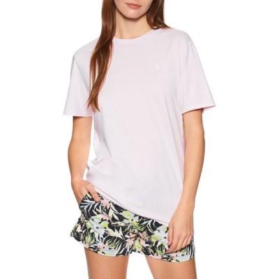ボルコム Volcom レディース Tシャツ トップス Solid Stone Emb Short Sleeve T-Shirt Lavender