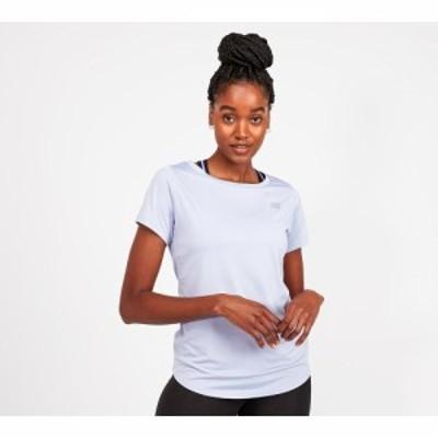 ニューバランス New Balance レディース Tシャツ トップス accelerate short sleeved t-shirt