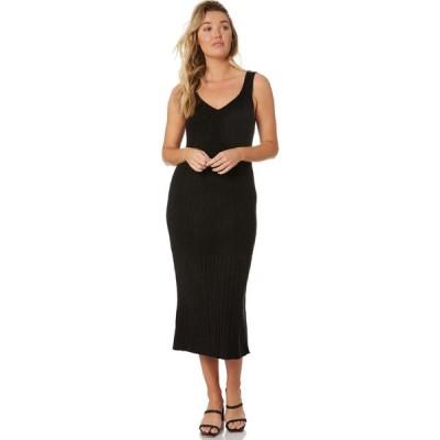 リュー スティック Rue stiic レディース パーティードレス ワンピース・ドレス dayle knit dress Black