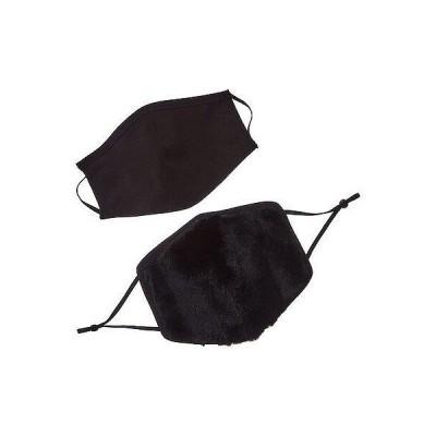 レディース アクセサリー  Adrienne Landau 2pc Face Warmer & Cloth Face Mask Set
