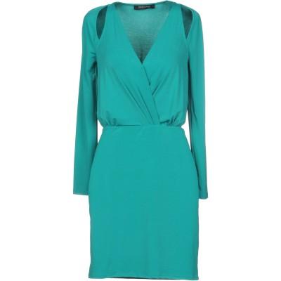 MARCIANO ミニワンピース&ドレス グリーン 44 ポリエステル 95% / ポリウレタン 5% ミニワンピース&ドレス