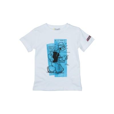 ICE ICEBERG T シャツ ホワイト 5 コットン 100% T シャツ