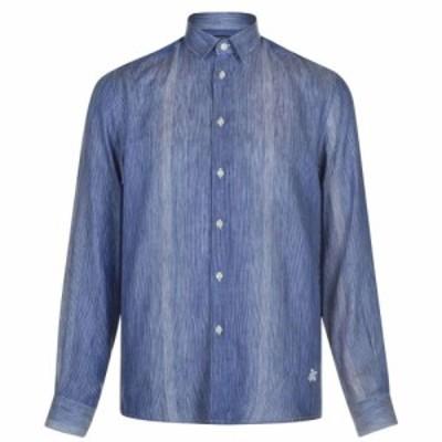 ヴィルブレクイン VILEBREQUIN メンズ シャツ トップス Caracal Shirt Bleu Marine